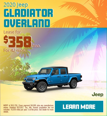 2020 Jeep Gladiator Overland - June 2020