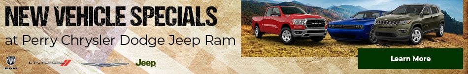 New Vehicle Specials at Perry Chrysler Dodge Jeep Ram