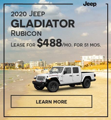 2020 Jeep Gladiator Rubicon-September 2020