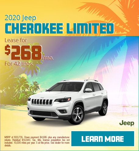 2020 Jeep Cherokee Limited - June 2020