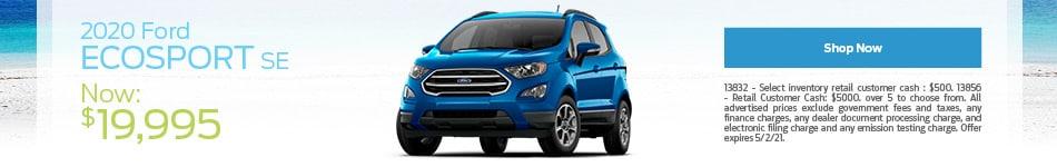 2020 Ford EcoSport SE - April