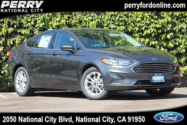 Perry Ford National City >> New 2019 Ford Fusion For Sale At Perry Ford Vin 3fa6p0hd5kr175480