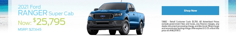 2021 Ford Ranger Super Cab