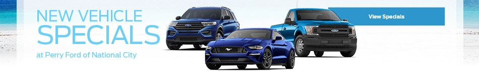 New Vehicle Specials - April