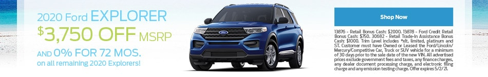 2020 Ford Explorer - April