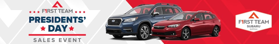First Team Subaru Presidents' Day Sales Event