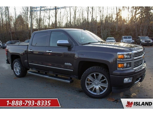 2014 Chevrolet Silverado 1500 High Country, Leather Interior, Rear Airbags Crew Cab Pickup