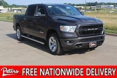 New 2019 Ram All-New 1500 BIG HORN / LONE STAR CREW CAB 4X4 5'7 BOX Crew Cab 1C6SRFFT2KN803621 9D702 in Longview, TX