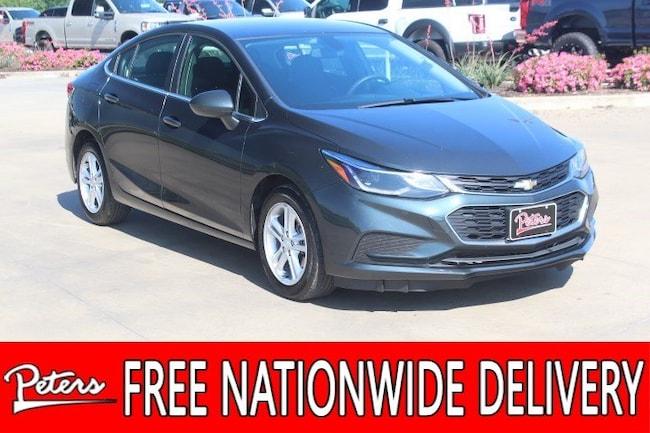 used 2018 Chevrolet Cruze LT Auto Sedan in Longview TX