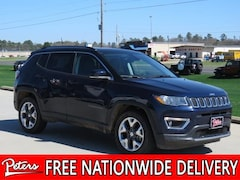 New 2018 Jeep Compass LIMITED FWD Sport Utility in Longview, TX
