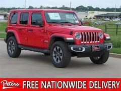New 2019 Jeep Wrangler UNLIMITED SAHARA 4X4 Sport Utility 1C4HJXEGXKW570330 9D545 in Longview, TX