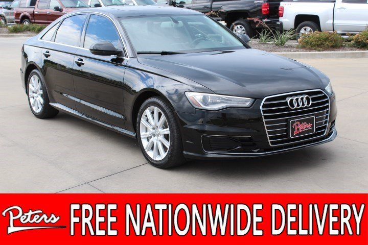 Used 2016 Audi A6 2.0T Premium Sedan WAUDFAFC1GN121895 In Longview, TX