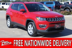 Certified Pre-Owned 2017 Jeep New Compass Latitude 4x4 SUV 3C4NJDBB6HT674774 in Longview, TX