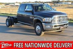 New 2018 Ram 3500 LARAMIE CREW CAB CHASSIS 4X4 172.4 WB Crew Cab in Longview, TX