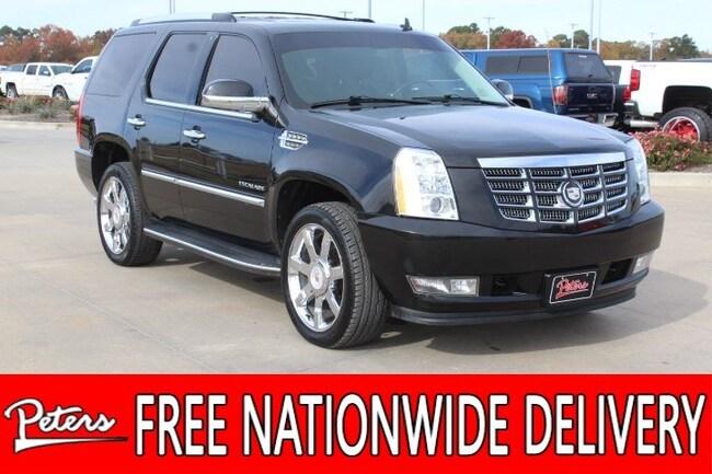 used 2012 CADILLAC Escalade Luxury SUV in Longview TX