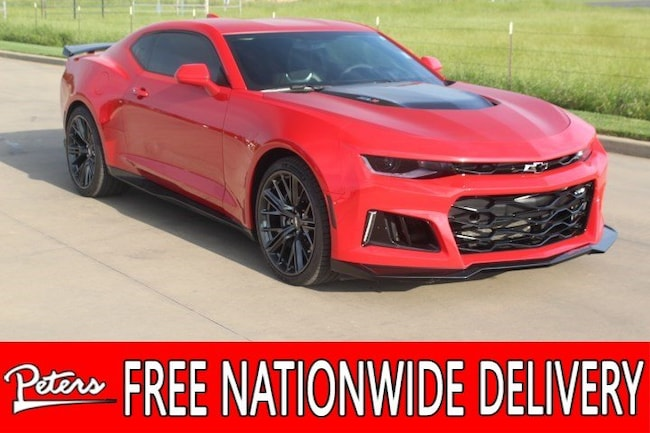 used 2017 Chevrolet Camaro ZL1 Coupe in Longview TX