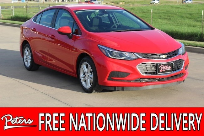 used 2017 Chevrolet Cruze LT Auto Sedan in Longview TX