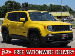 New 2018 Jeep Renegade ALTITUDE 4X2 Sport Utility 8D992 in Longview, TX