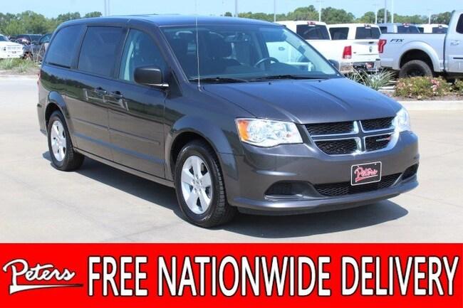 certified pre owned 2016 Dodge Grand Caravan SE Van in longview TX