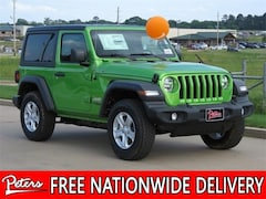 New 2019 Jeep Wrangler SPORT S 4X4 Sport Utility in Longview, TX