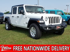New 2020 Jeep Gladiator SPORT S 4X4 Crew Cab in Longview, TX