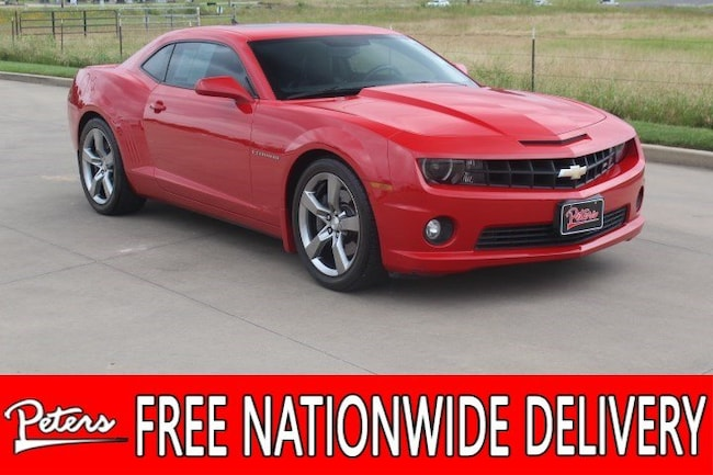 used 2011 Chevrolet Camaro 2SS Coupe in Longview TX