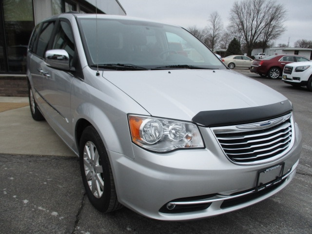 Used 2012 Chrysler Town Country Touring L For Sale Gibson City Il