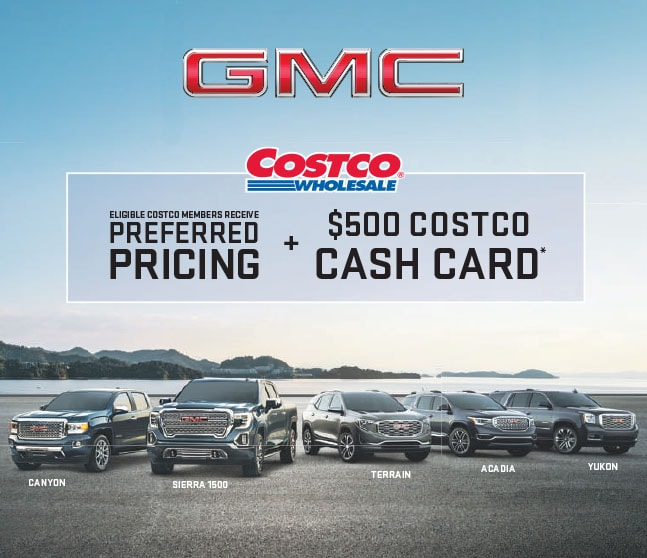 Exclusive Costco Member Offer Sherwood Buick Gmc