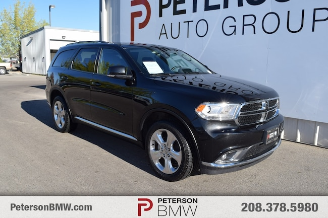2015 Dodge Durango For Sale >> Pre Owned 2015 Dodge Durango For Sale At Peterson Bmw Of Boise Vin
