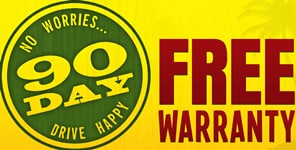 Free 90-Day No Worries Warranty from Peterson Dodge Chrysler Jeep Ram