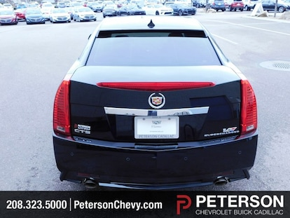 Used 2010 CADILLAC CTS-V For Sale at Peterson Chevrolet Buick Cadillac |  VIN: 1G6DV5EP5A0112321