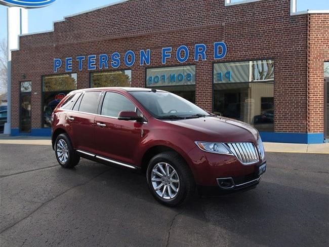 Used 2014 Lincoln Mkx For Sale At Peterson Ford Vin 2lmdj8jk6ebl04386