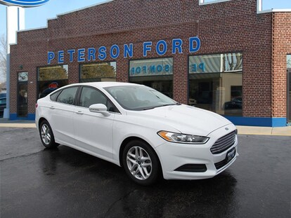 2014 Ford Fusion For Sale >> Used 2014 Ford Fusion For Sale At Peterson Ford Vin