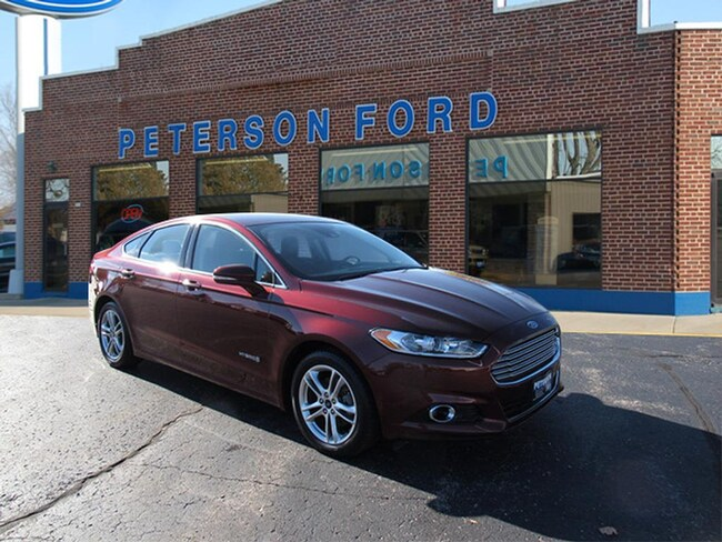 Used 2016 Ford Fusion Hybrid For Sale At Peterson Ford Vin