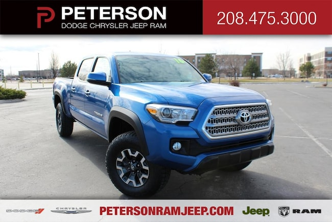 2016 Toyota Tacoma 4WD Double Cab LB V6 AT Truck