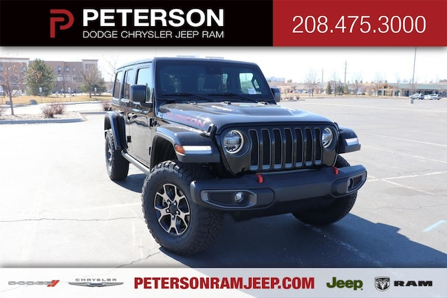 2019 Jeep WRANGLER UNLIMITED JL UNLIMITED RUBICON 4X4 Sport Utility