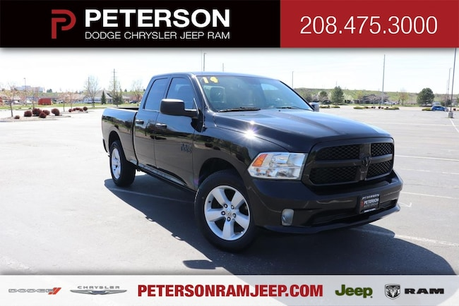 2014 Ram 1500 4WD Quad Cab 6.4 Ft Box Tradesman Truck