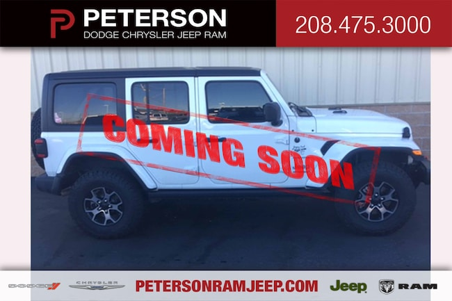 2018 Jeep All-New Wrangler Unlimited 4x4 SUV
