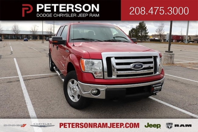 2012 Ford F-150 4WD Supercrew Truck