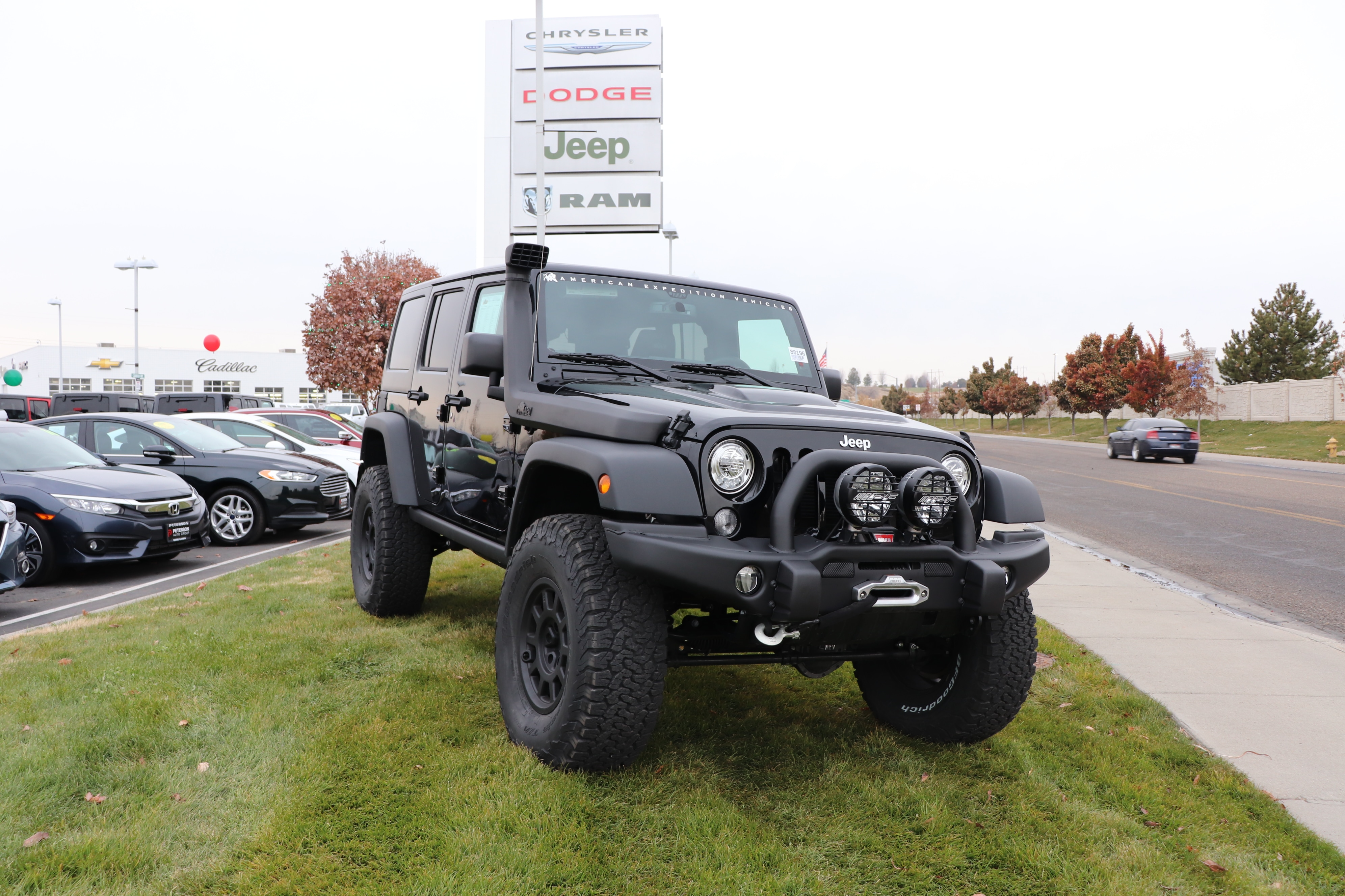 New 2018 Jeep Wrangler Unlimited For Sale at Peterson Dodge Chrysler Jeep  Ram | VIN: 1C4BJWFG2JL850693