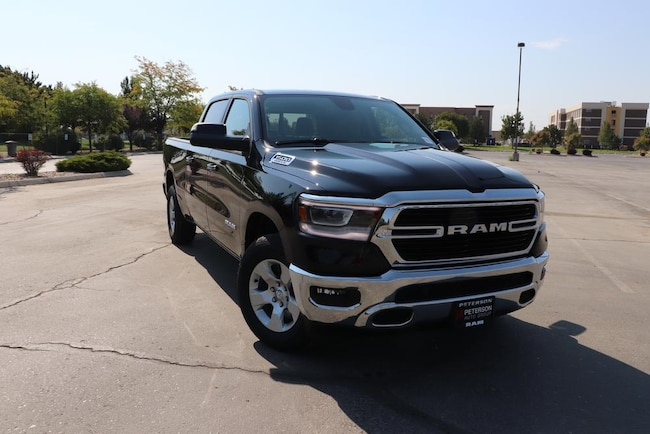 New 2019 Ram 1500 For Sale at Peterson's Stampede Dodge-chry- Jeep LLC |  VIN: 1C6SRFMT6KN587081