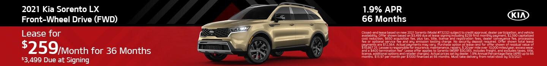 2021 Kia Sorento LX Front-Wheel Drive (FWD)