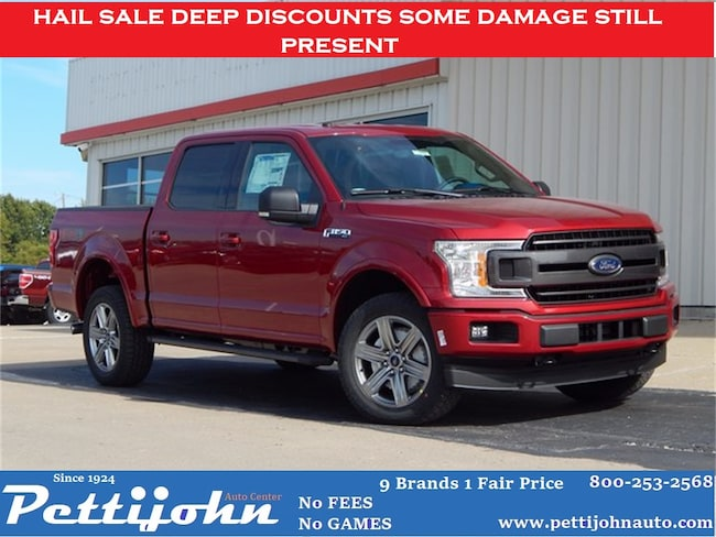 2018 Ford F-150 XLT Truck SuperCrew Cab