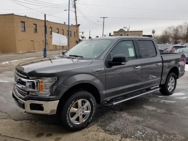 2019 Ford F-150 4X4 Supercrew XLT Truck SuperCrew Cab