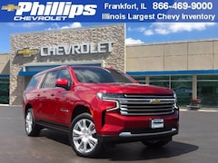 New 2021 Chevrolet Suburban High Country SUV for Sale in Frankfort, Lansing, & Bradley, IL