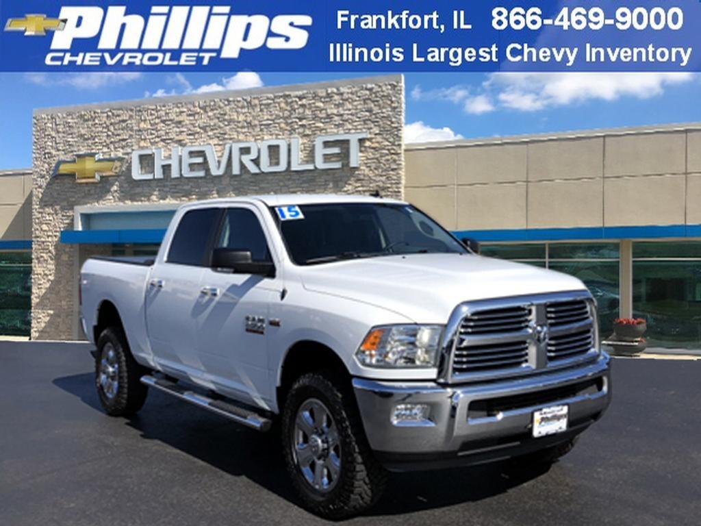 Used 2015 Ram 2500 Truck Crew Cab For Sale at Phillips Chevrolet | VIN:  3C6UR5DJ9FG632546