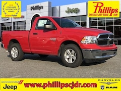 New 2019 Ram 1500 CLASSIC TRADESMAN REGULAR CAB 4X2 6'4 BOX Regular Cab for sale in Ocala at Phillips Chrysler Jeep Dodge Ram
