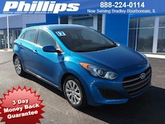 Certified 2017 Hyundai Elantra GT Hatchback for sale in Bourbonnais