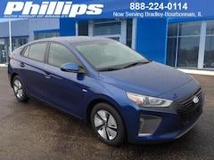 New 2019 Hyundai Ioniq Hybrid Blue Hatchback for sale or lease in Bourbonnais, IL