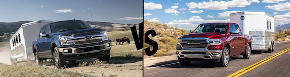 Ford Vs Dodge >> 2019 Ford F 150 Vs Dodge Ram Phil Long Ford Chapel Hills